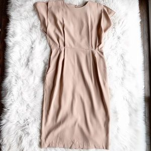 NWT ASOS Dusty Rose Midi Dress
